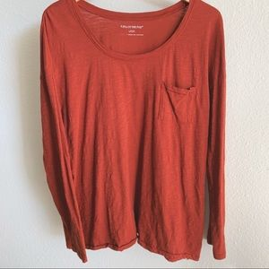 A Pea In The Pod • Rust Long Sleeve Basic